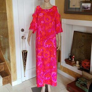 Vintage 50's 60's Hawaiian Honolulu Original Dress